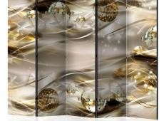 Paraván - Golden Nebula II [Room Dividers]